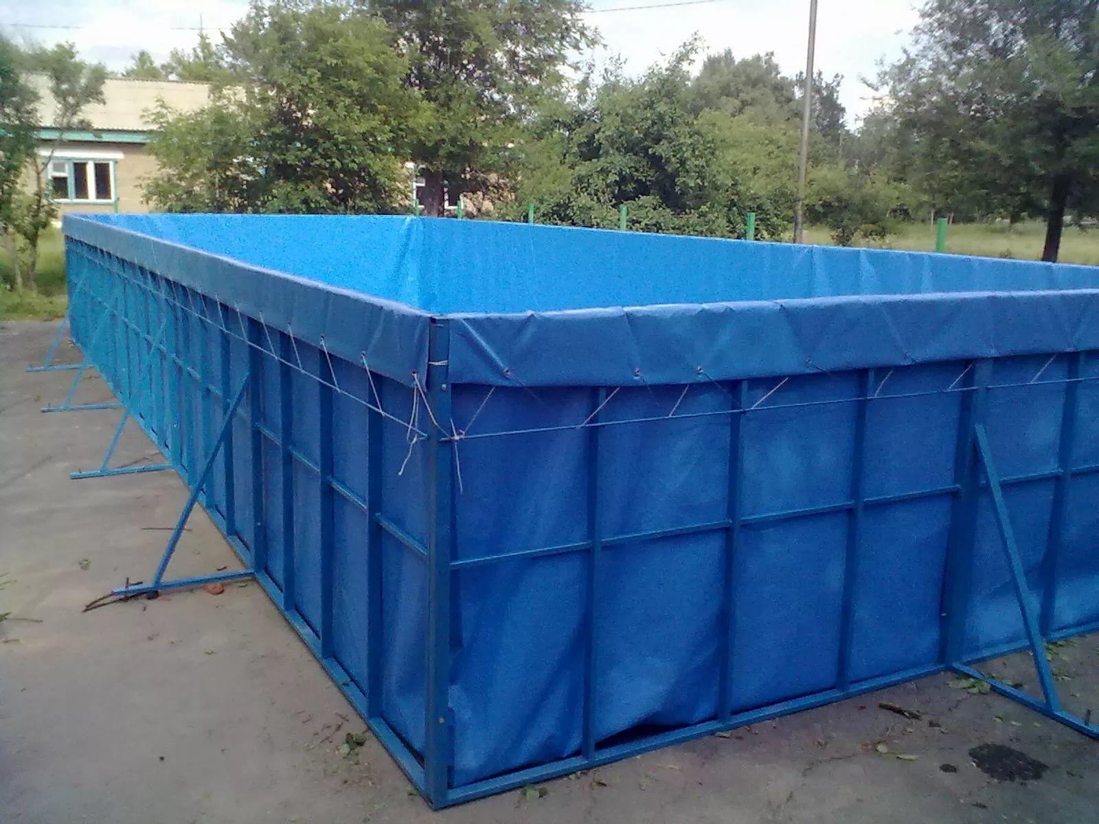Каркасный бассейн для дачи. Как сделать бассейн 97